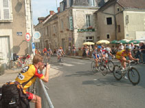 Cycle race at Yzeure
