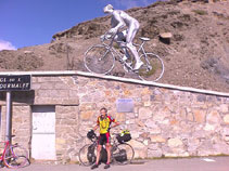 Chris conquers the Tourmalet