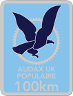 Audax 100km Badge
