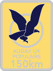 Audax 150km Badge