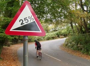 25% Hill on Dartmoor Devil
