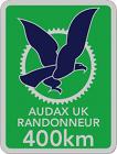 Audax 400km Badge