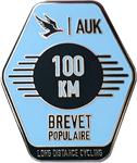 Audax 100km Badge