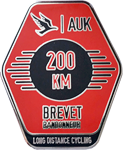 Audax 200km Badge