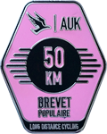 Audax 50km Badge