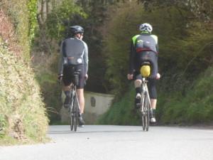 Riders on Audax April 2016